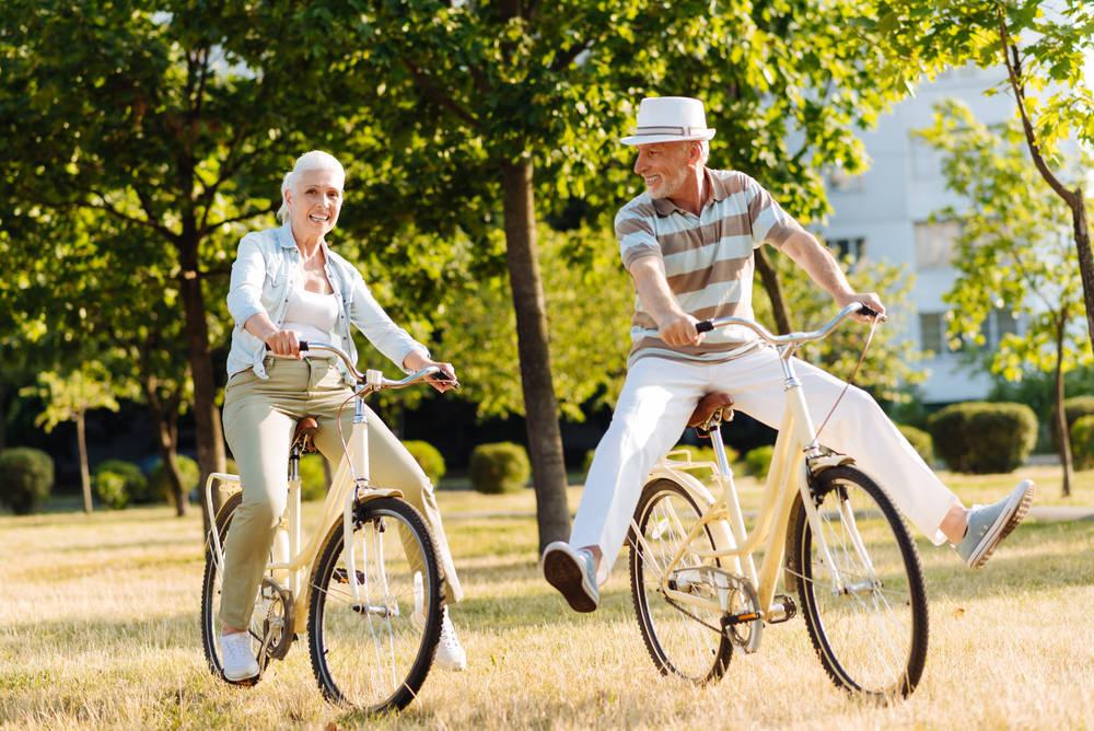 El ciclismo, una alternativa real para mejorar la vida de los ancianos